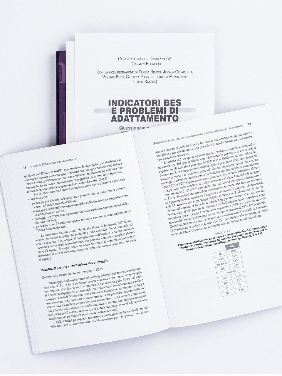 Indicatori BES e problemi di adattamento - Libri - Erickson 2