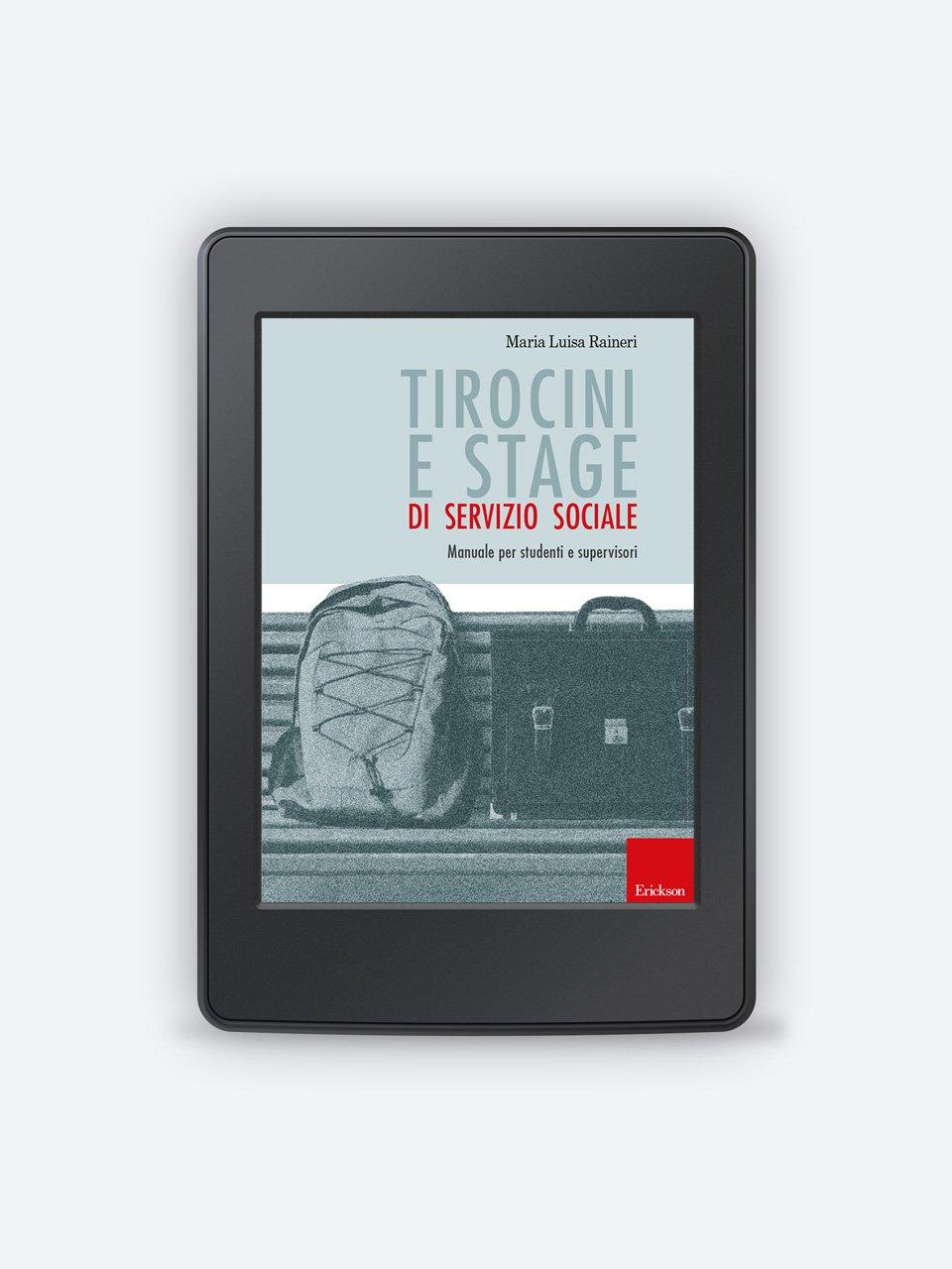 Tirocini e stage di servizio sociale - Libri - Erickson 3