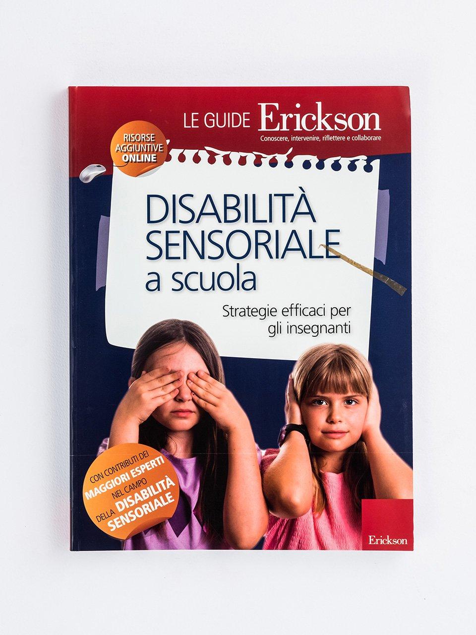 DISABILITÀ SENSORIALE a scuola - Test TINV - Intelligenza non verbale - Libri - Strumenti - Erickson
