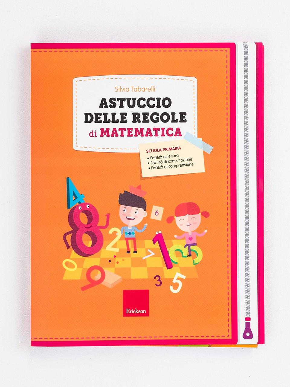 Astuccio delle regole di matematica - Libri e corsi su DSA e disturbi specifici dell'apprendimento - Erickson
