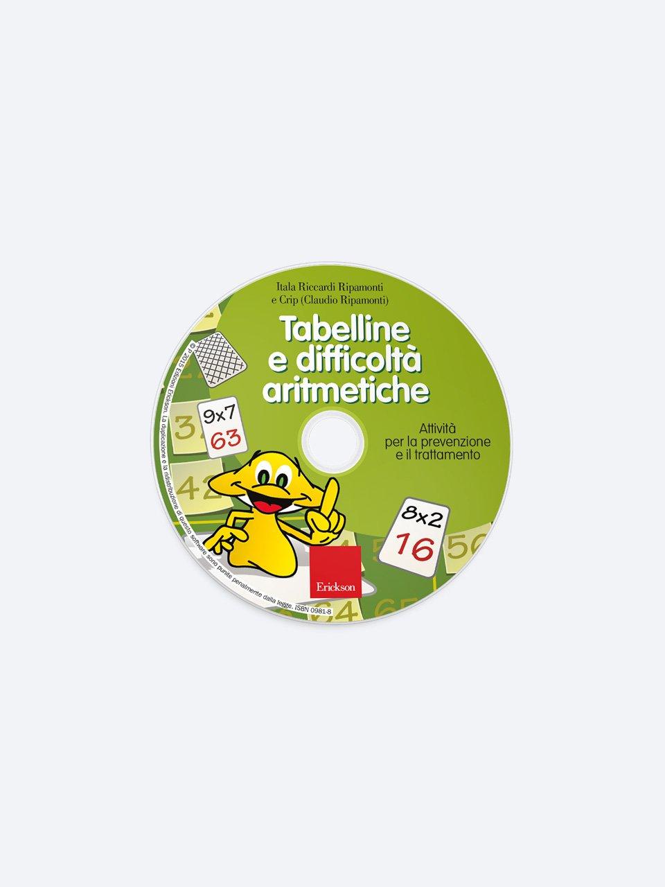 Tabelline e difficoltà aritmetiche - Libri - App e software - Erickson 5