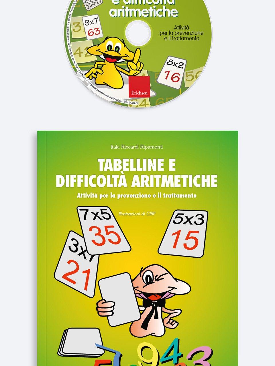 Tabelline e difficoltà aritmetiche - Libri - App e software - Erickson 9