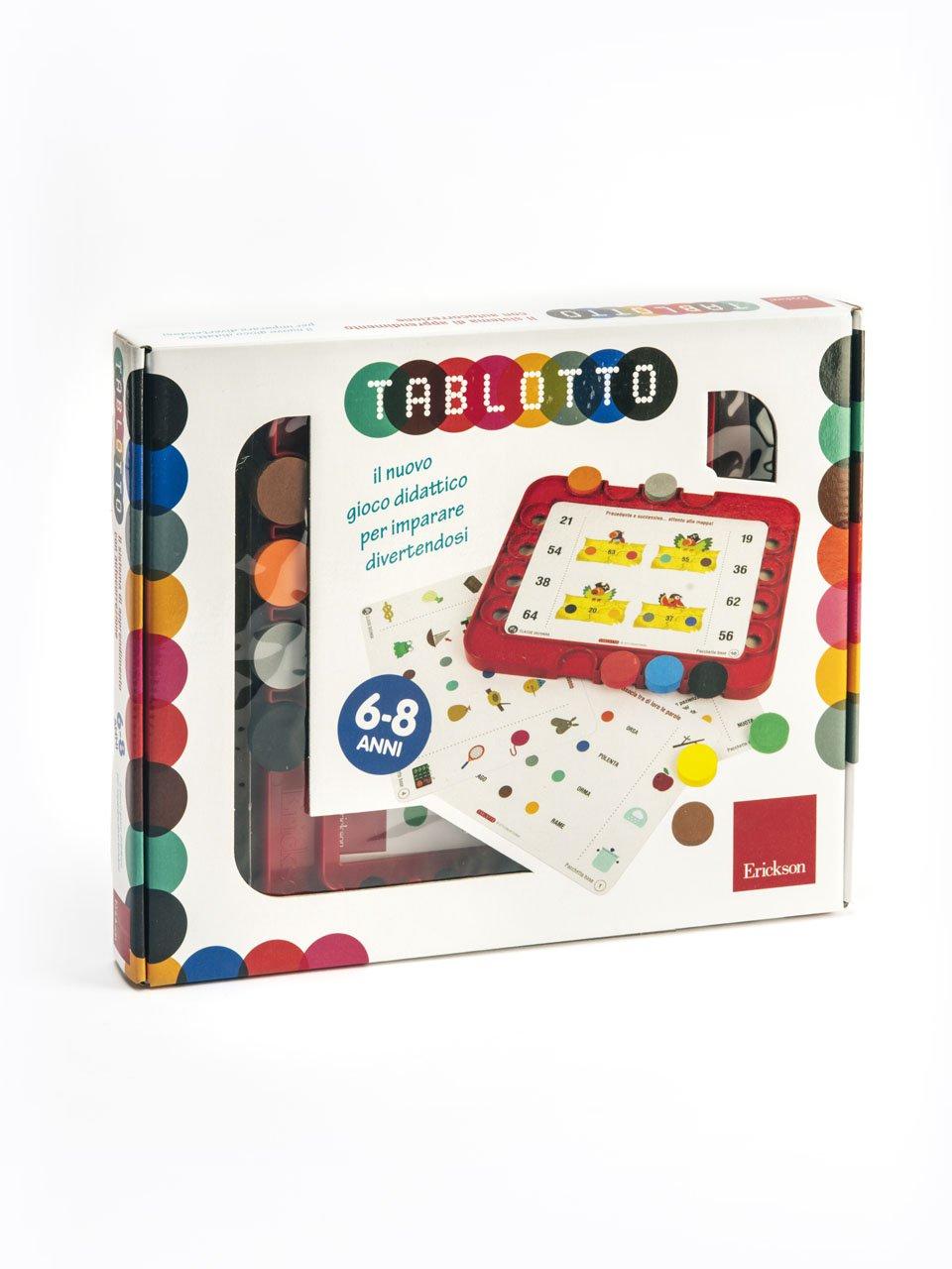 Tablotto (6-8 anni) - Sillabe in gioco - Giochi - Erickson
