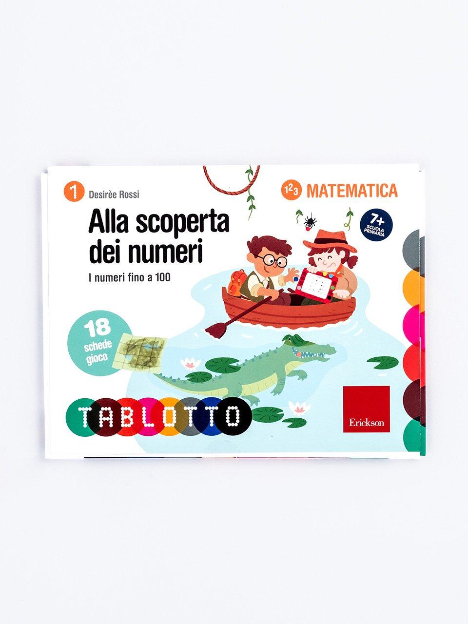 Schede per Tablotto (6-8 anni) - Alla scoperta dei numeri - Il mago dei numeri - App e software - Erickson