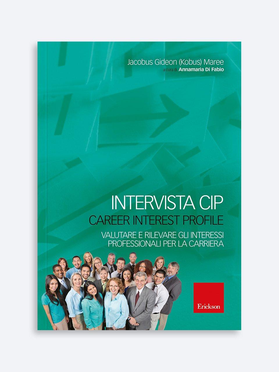 Intervista CIP - Career Interest Profile - Il Servizio Civile tra valori civici e competenze  - Libri - Erickson