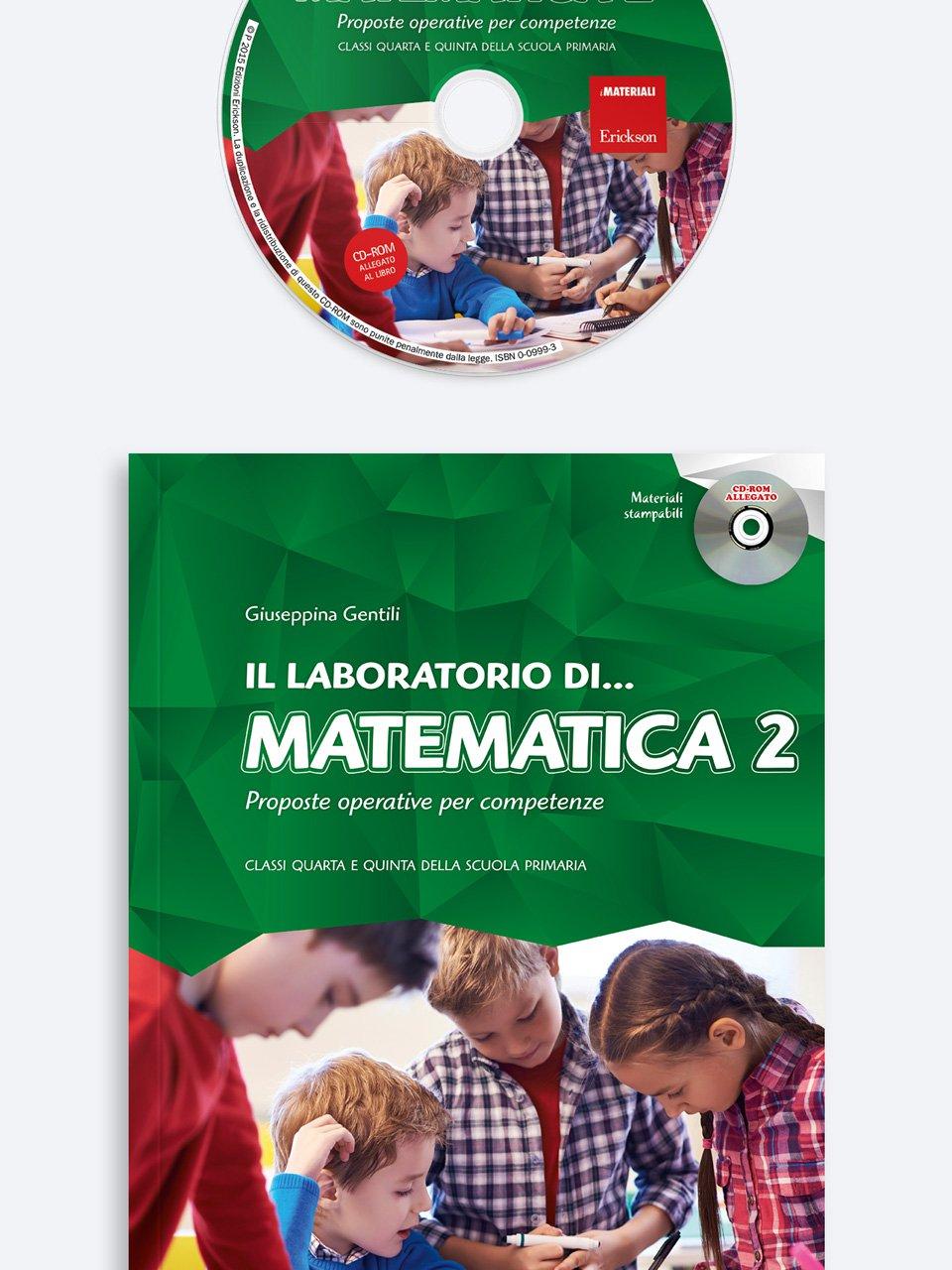Il laboratorio di... matematica - Volume 2 - didattica laboratoriale - Erickson