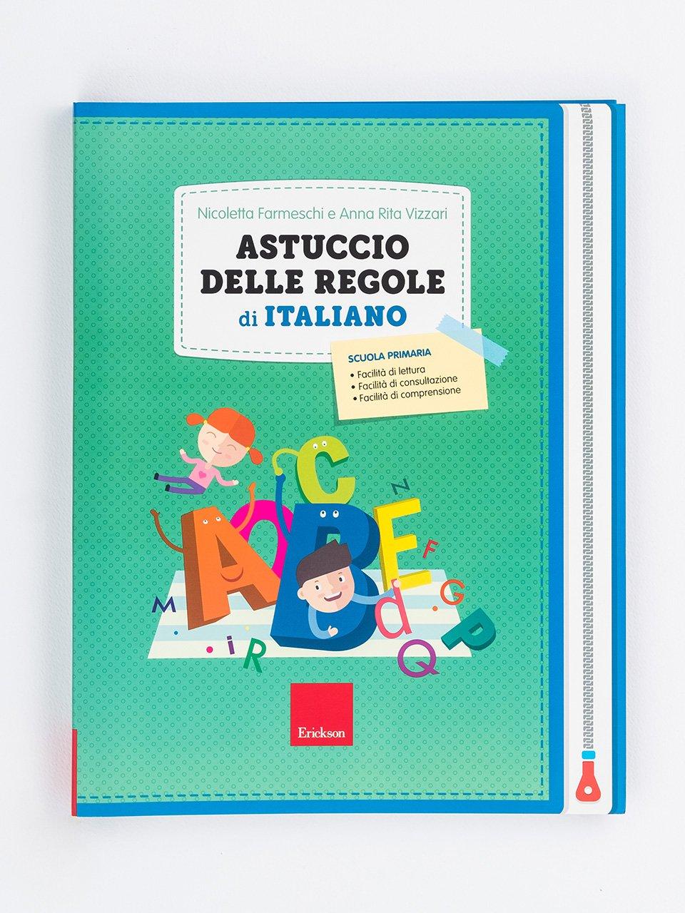 Astuccio delle regole di italiano - Erickson: libri e formazione per didattica, psicologia e sociale