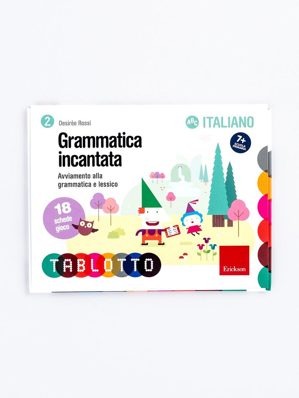 Schede per Tablotto (6-8 anni) - Grammatica incantata - Sillabe in gioco - Giochi - Erickson
