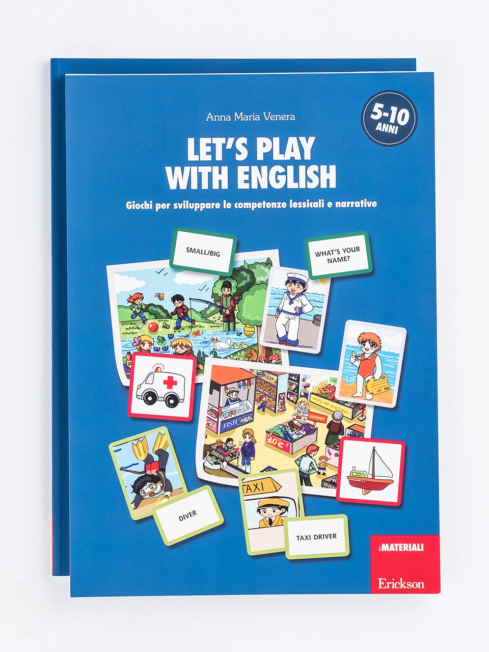 Let's play with English - Schede per Tablotto (Età 8+) - Play and Learn with - Giochi - Erickson