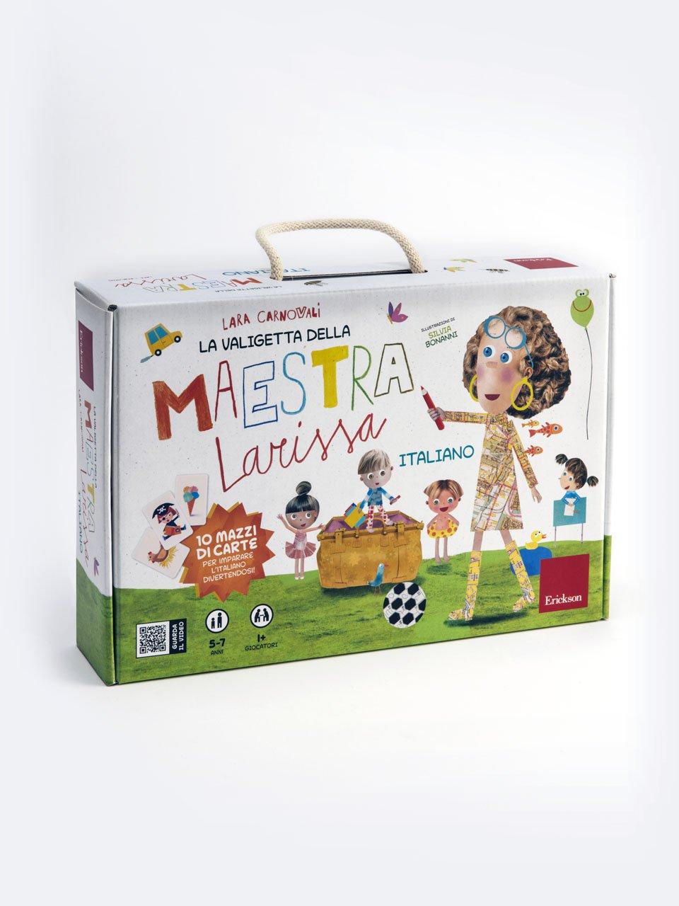 La valigetta della Maestra Larissa - Schede per Tablotto (6-8 anni) - Grammatica incant - Giochi - Erickson