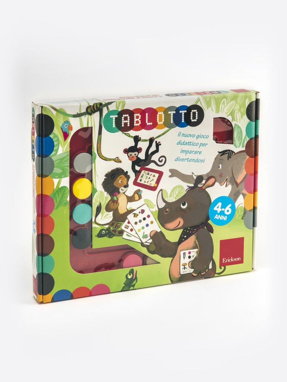 Tablotto (4-6 anni) - Un gioco di P.A.R.O.L.E. - Strumenti - Erickson