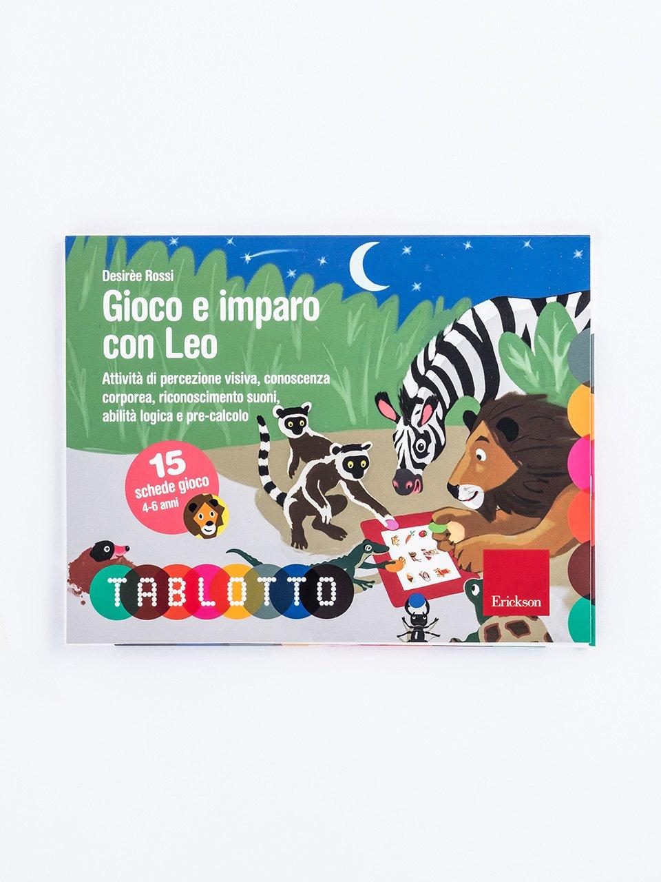 Schede per Tablotto (4-6 anni) - Gioco e imparo con Leo - Schede per Tablotto (4-6 anni) - Gioco e imparo co - Giochi - Erickson
