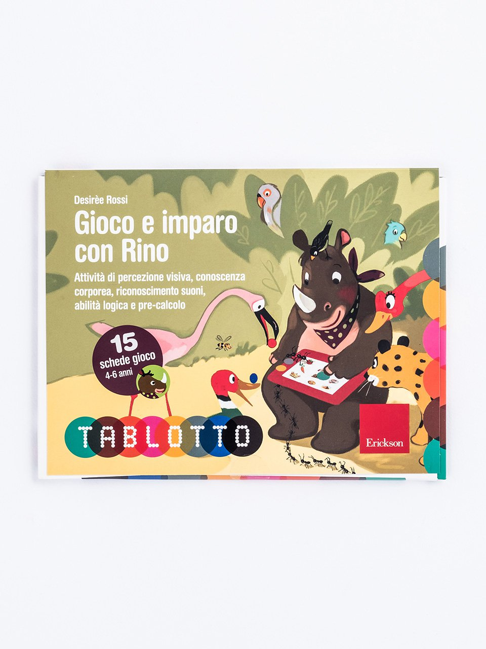 Schede per Tablotto (4-6 anni) - Gioco e imparo con Rino - Come facilitare una Family group conference - Libri - Erickson