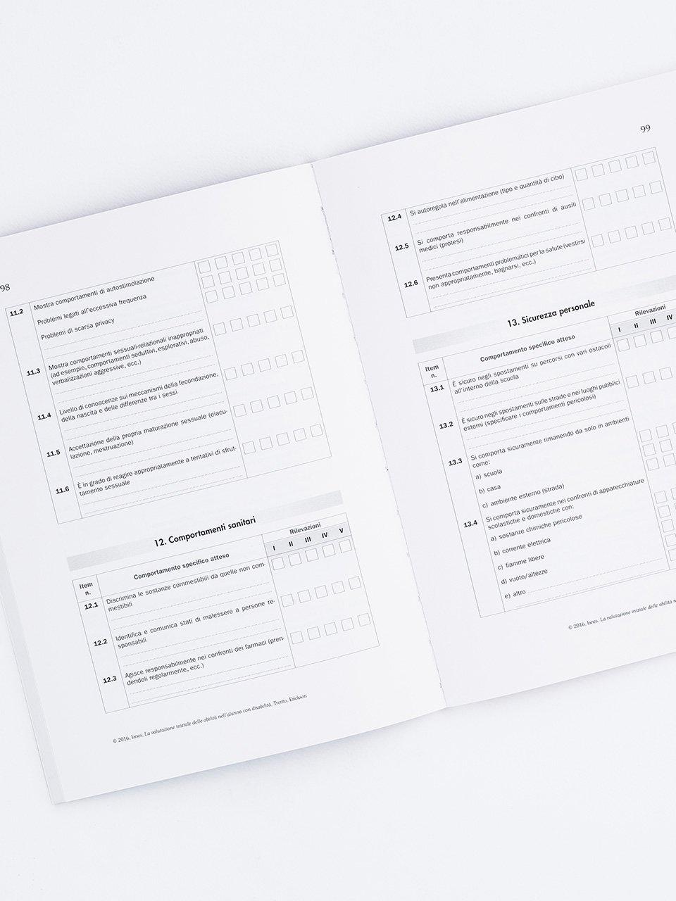 La valutazione iniziale delle abilità nell'alunno  - Libri - Erickson 2