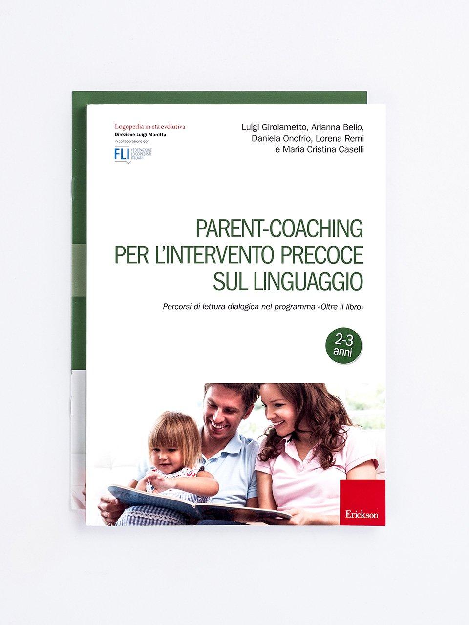 Parent-coaching per l'intervento precoce sul linguaggio - Test TVL - Valutazione del linguaggio - Libri - Strumenti - Erickson