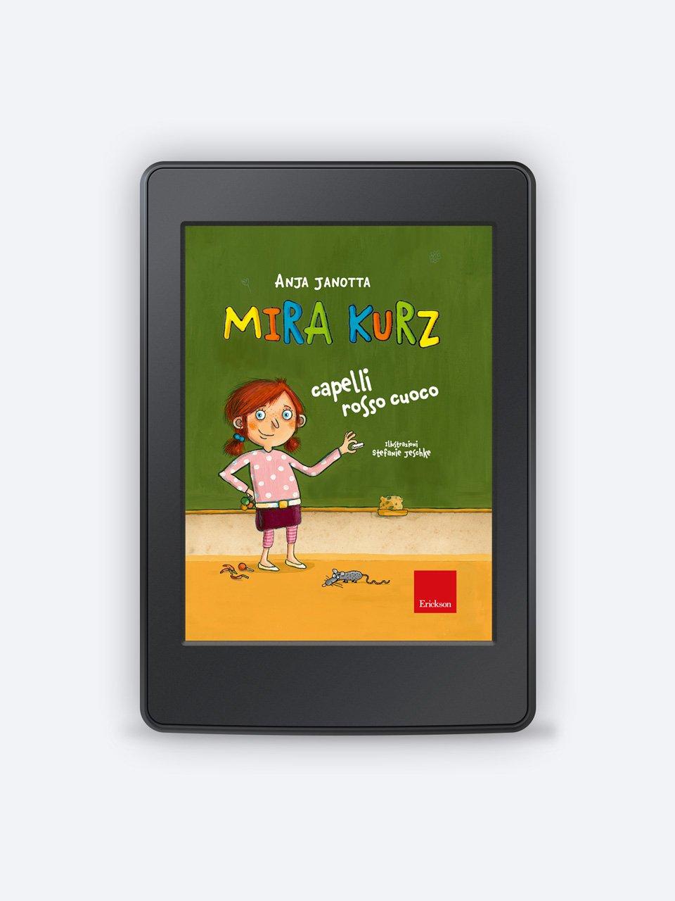 Mira Kurz capelli rosso cuoco - I mini gialli dell'ortografia 5 - Libri - Erickson