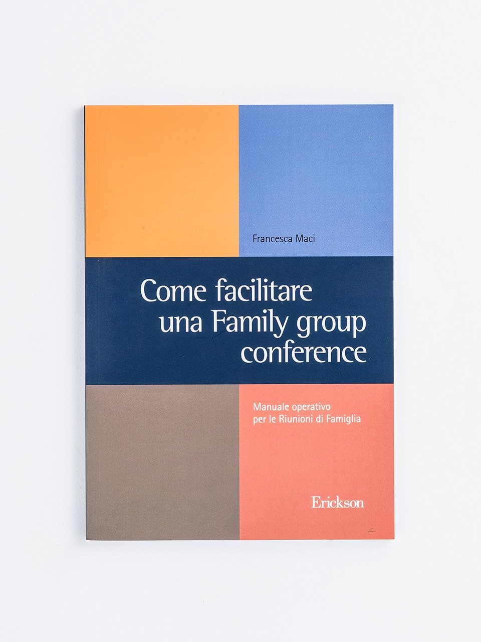 Come facilitare una Family group conference - Insegnare Domani - Avvertenze generali - Libri - Erickson