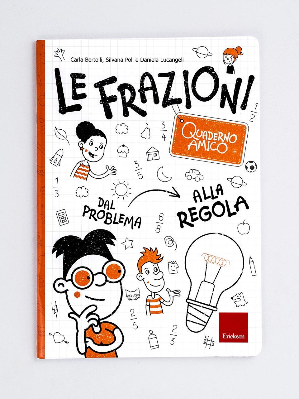 Quaderno amico - Le frazioni - Libri - Erickson