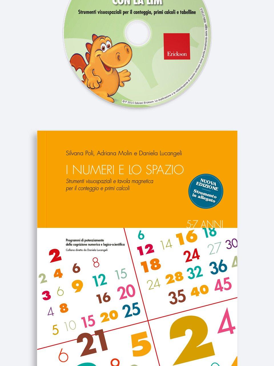 I numeri e lo spazio con la LIM - Adriana Molin - Erickson 3