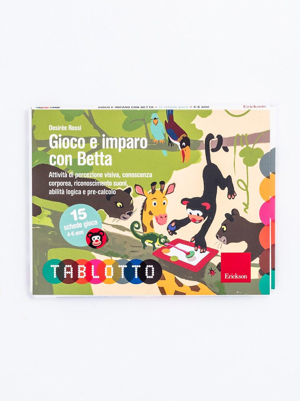 Schede per Tablotto (4-6 anni) - Gioco e imparo co - Giochi - Erickson