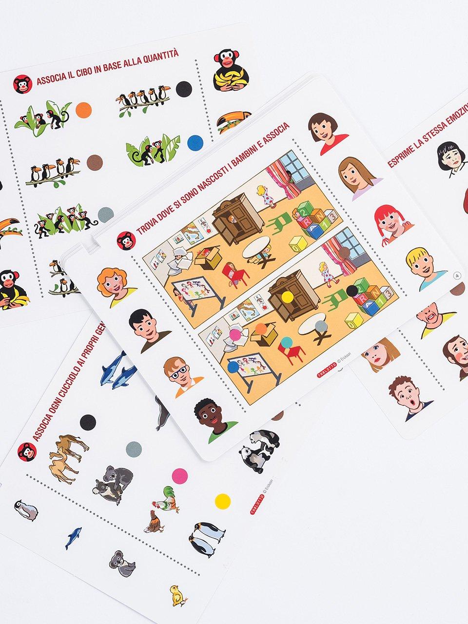 Schede per Tablotto (4-6 anni) - Gioco e imparo co - Giochi - Erickson 2