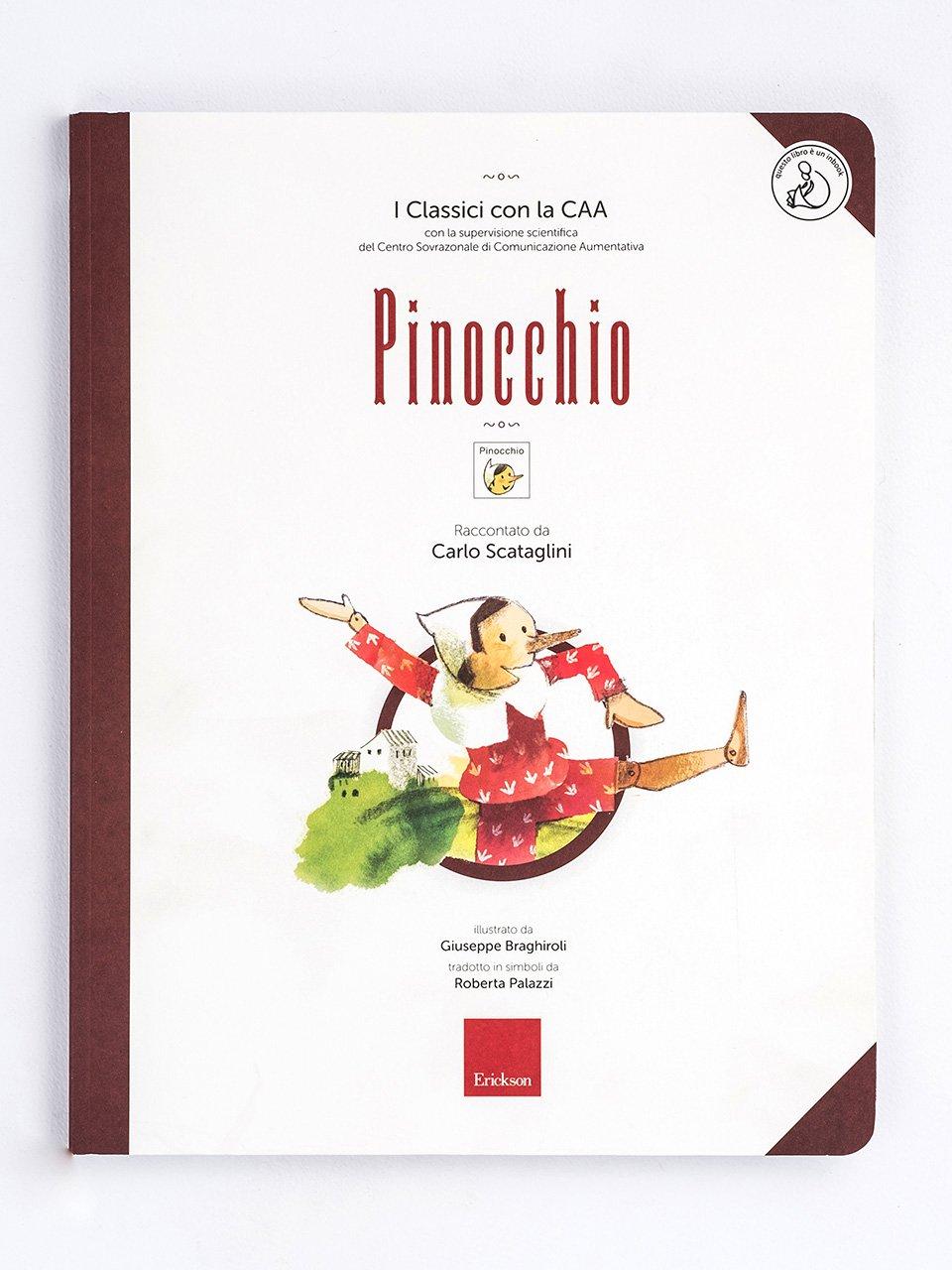 I Classici con la CAA - Pinocchio - Libri - Erickson