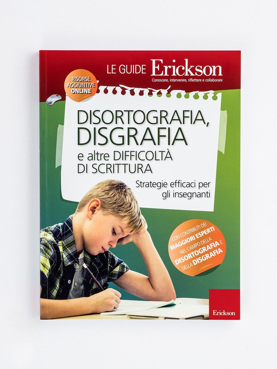 DISORTOGRAFIA, DISGRAFIA e altre difficoltà di scrittura a scuola - Test BHK - Scala sintetica per la valutazione dell - Libri - Erickson