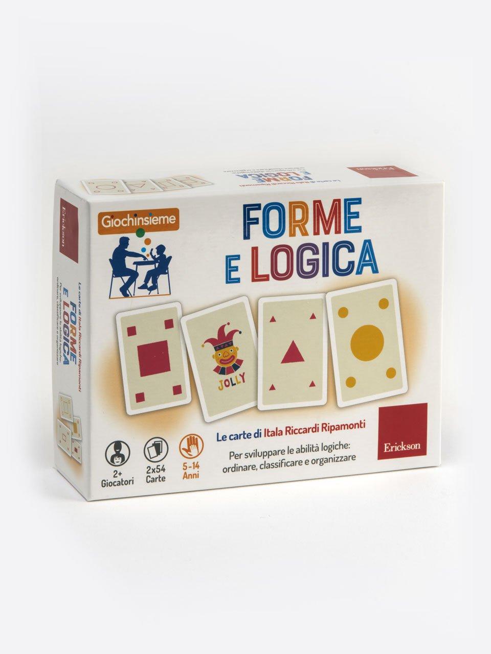 Giochinsieme - Forme e logica - TAP-D - Test delle Abilità Prassiche nella Disabil - Libri - Erickson