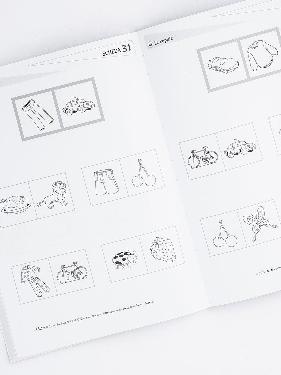 Allenare l'attenzione in età prescolare - Libri - Erickson 2