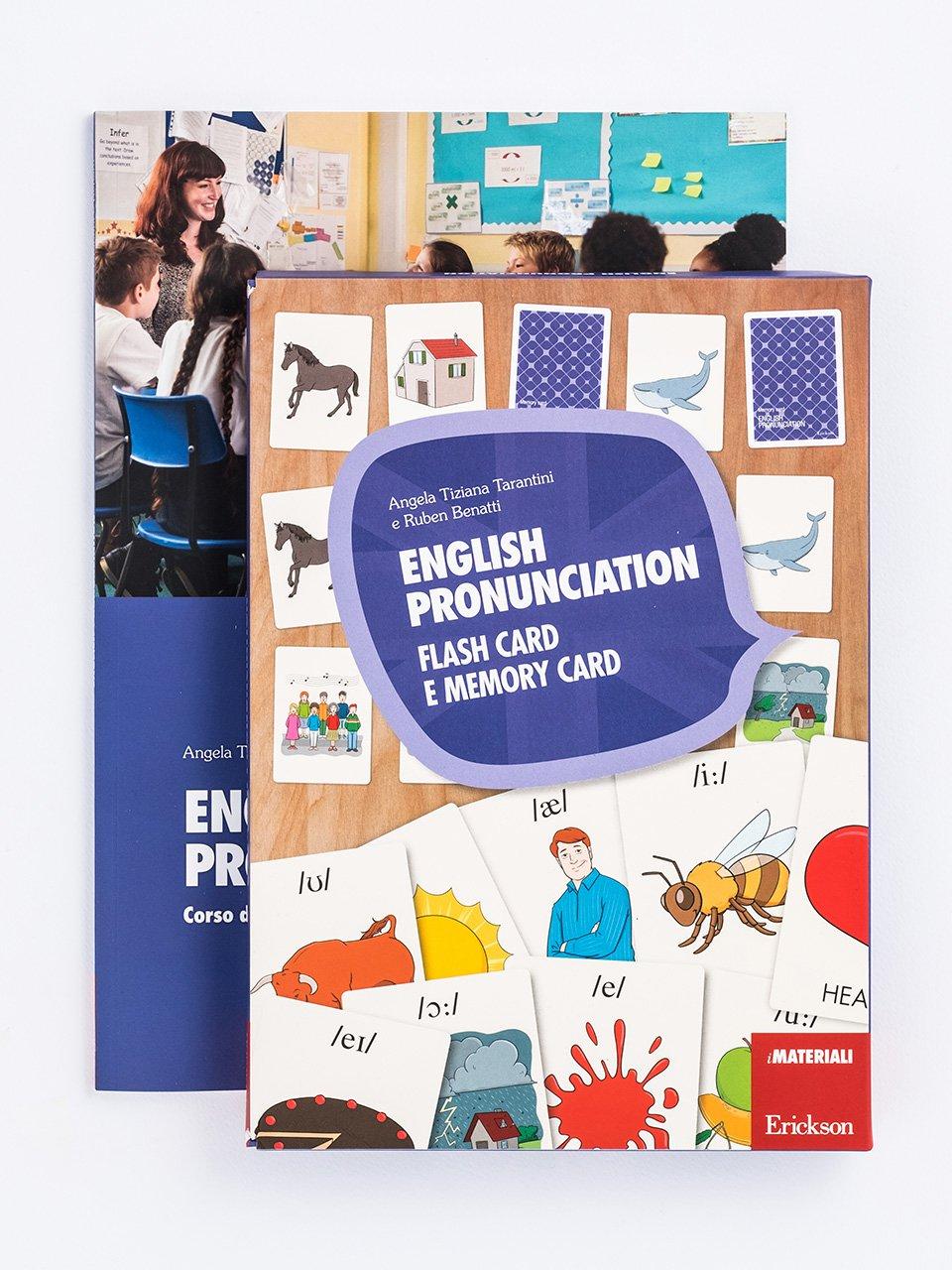 English pronunciation - Sviluppare le competenze pragmatiche - Volume 1 - Libri - App e software - Erickson
