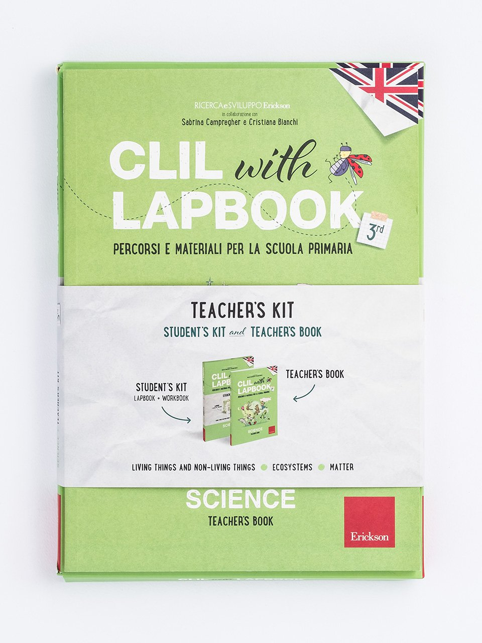 CLIL with LAPBOOK - SCIENCE - Classe terza - ScienzeImparo 3 - Libri - Erickson