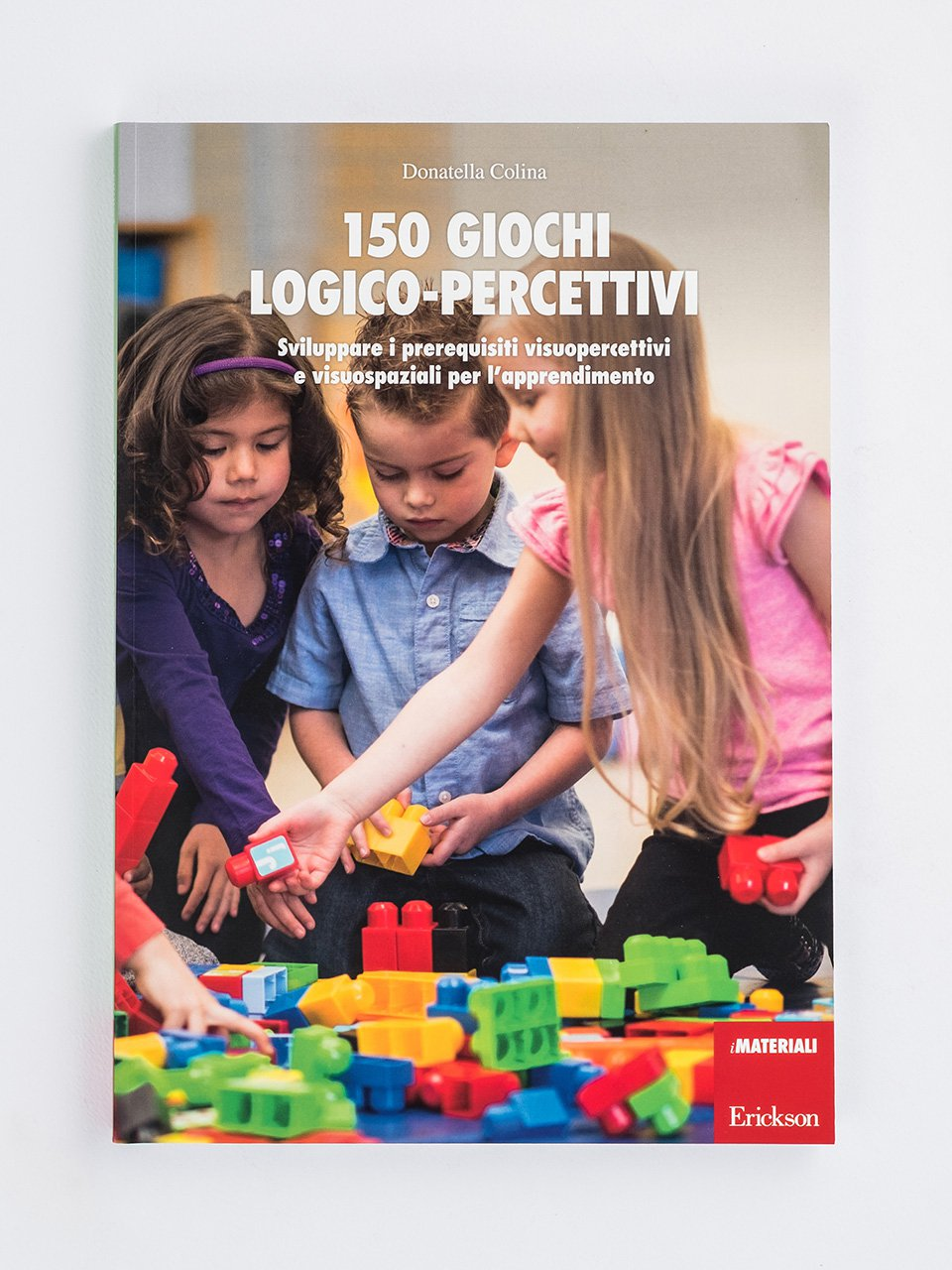 150 giochi logico-percettivi - Test TEMA - Memoria e apprendimento - Libri - Strumenti - Erickson