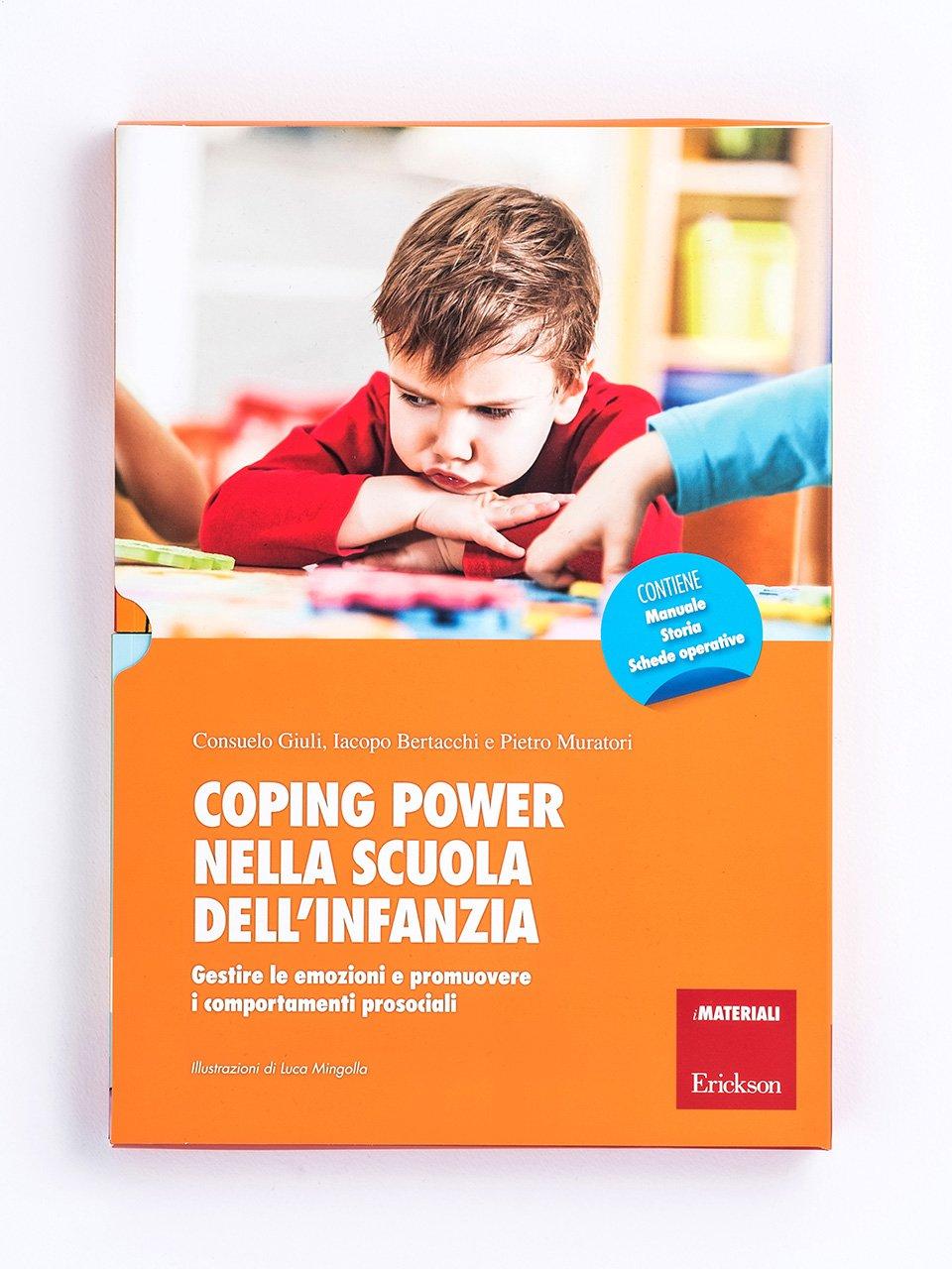 Coping power nella scuola dell'infanzia - Utilizzare il programma Coping Power Scuola in classe - Erickson