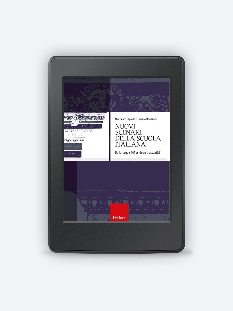 Nuovi scenari della scuola italiana - Luciano Rondanini - Erickson