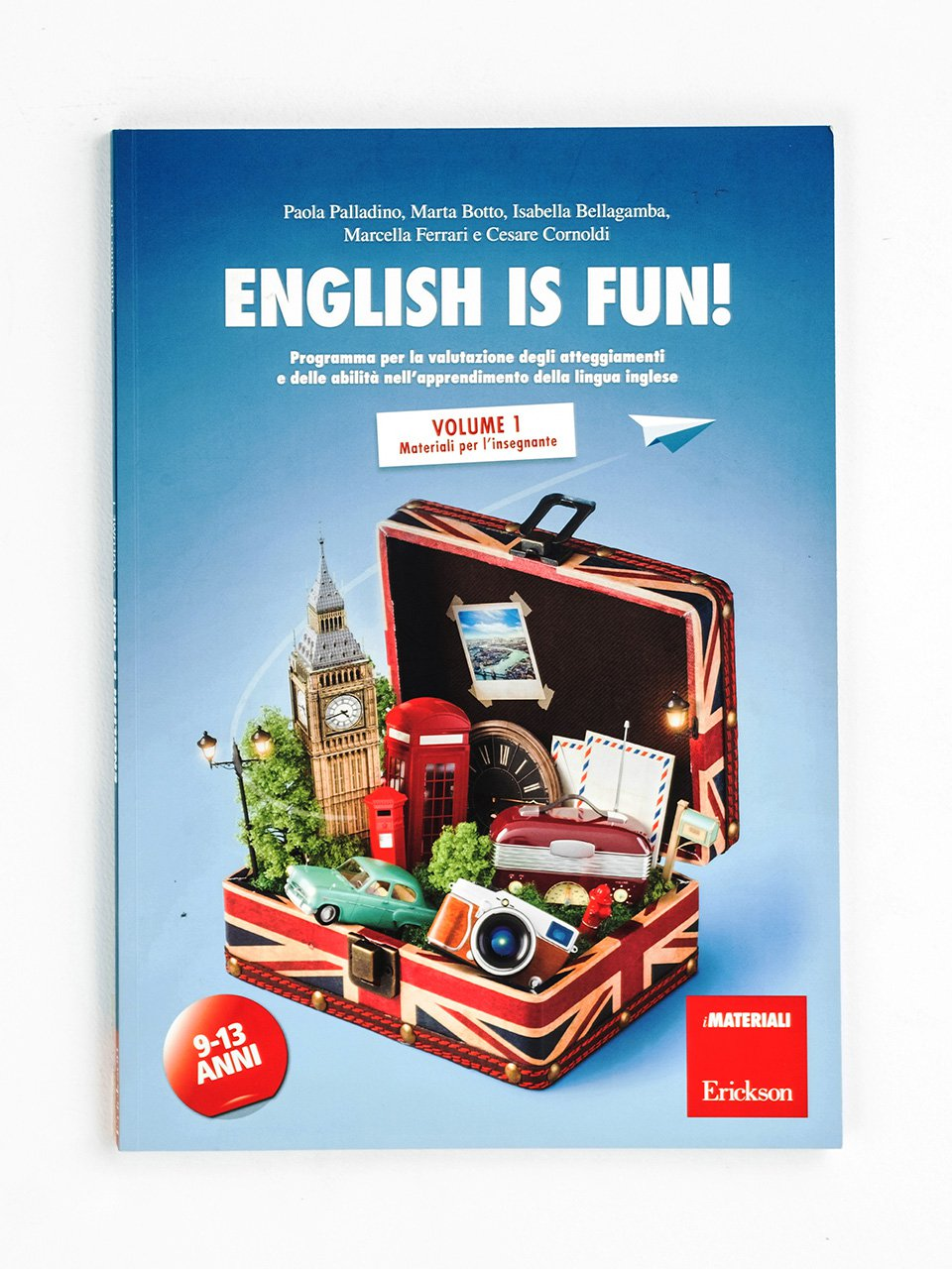 English is fun! Volume 1 - Français facile - Libri - App e software - Erickson