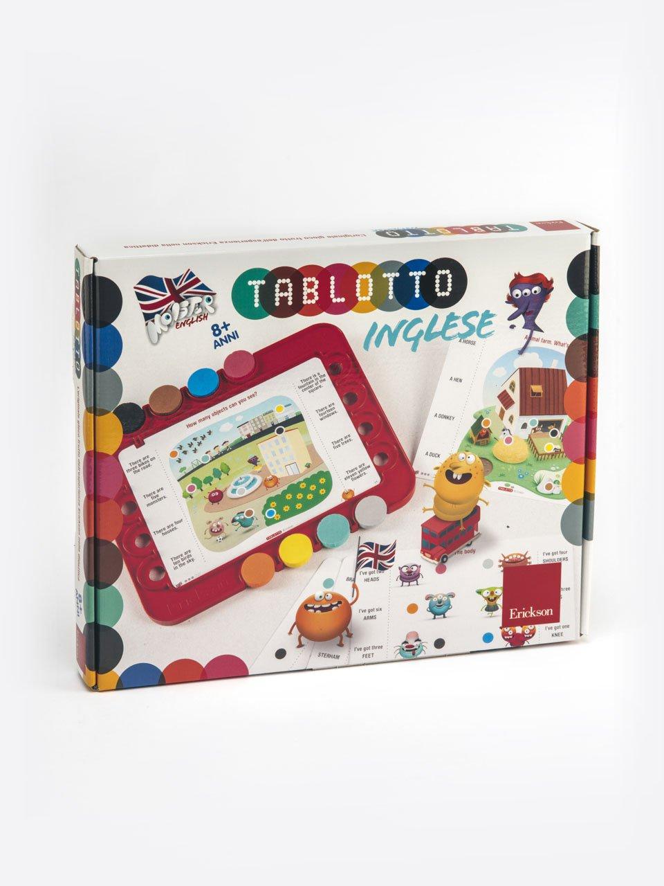 Tablotto Inglese 8+ - Schede per Tablotto (Età 8+) - Play and Learn with - Giochi - Erickson