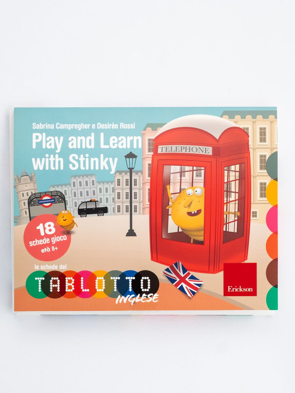 Schede per Tablotto (Età 8+) - Play and Learn with Stinky - Français facile - Libri - App e software - Erickson
