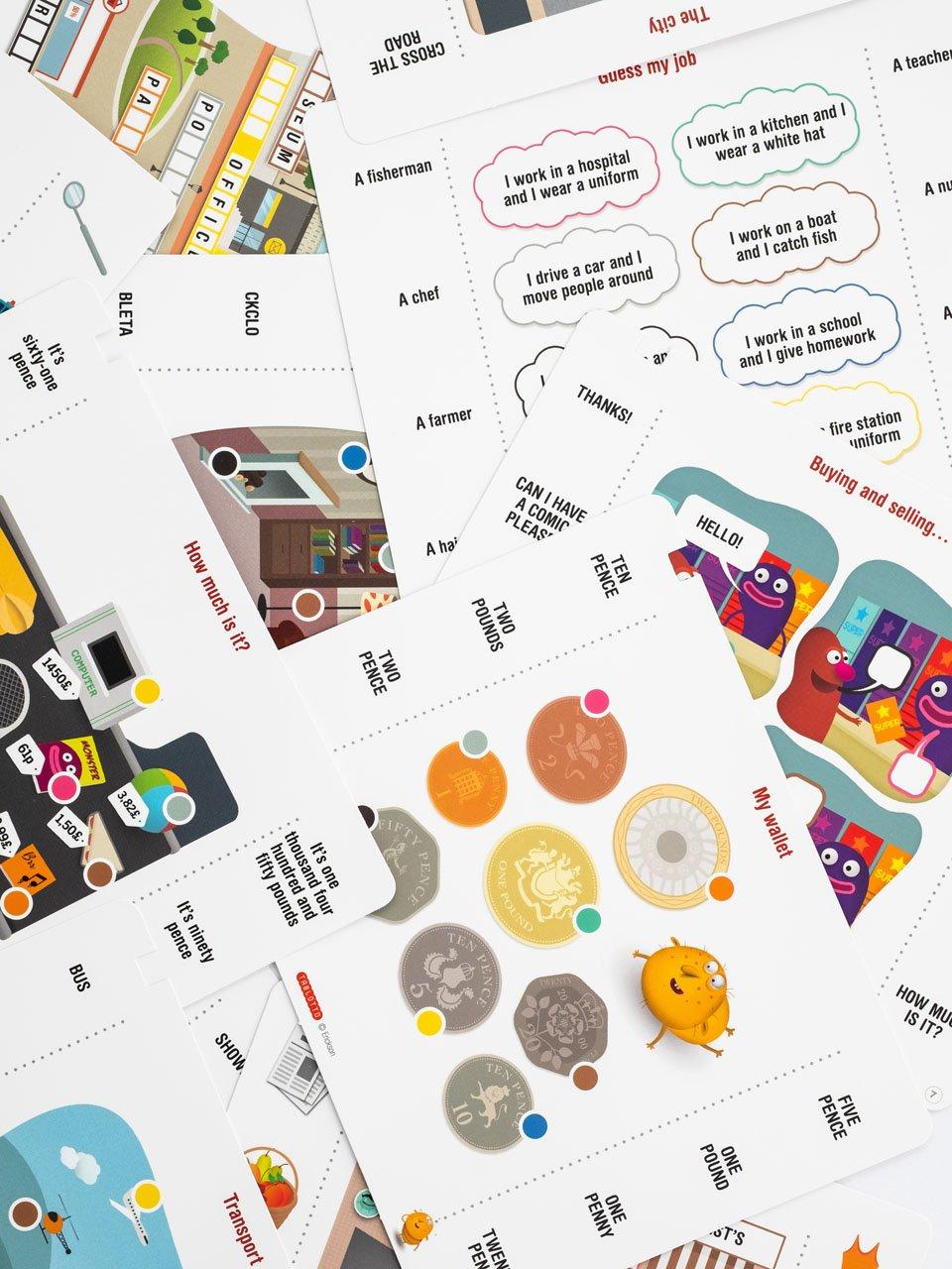 Schede per Tablotto (Età 8+) - Play and Learn with - Giochi - Erickson 2