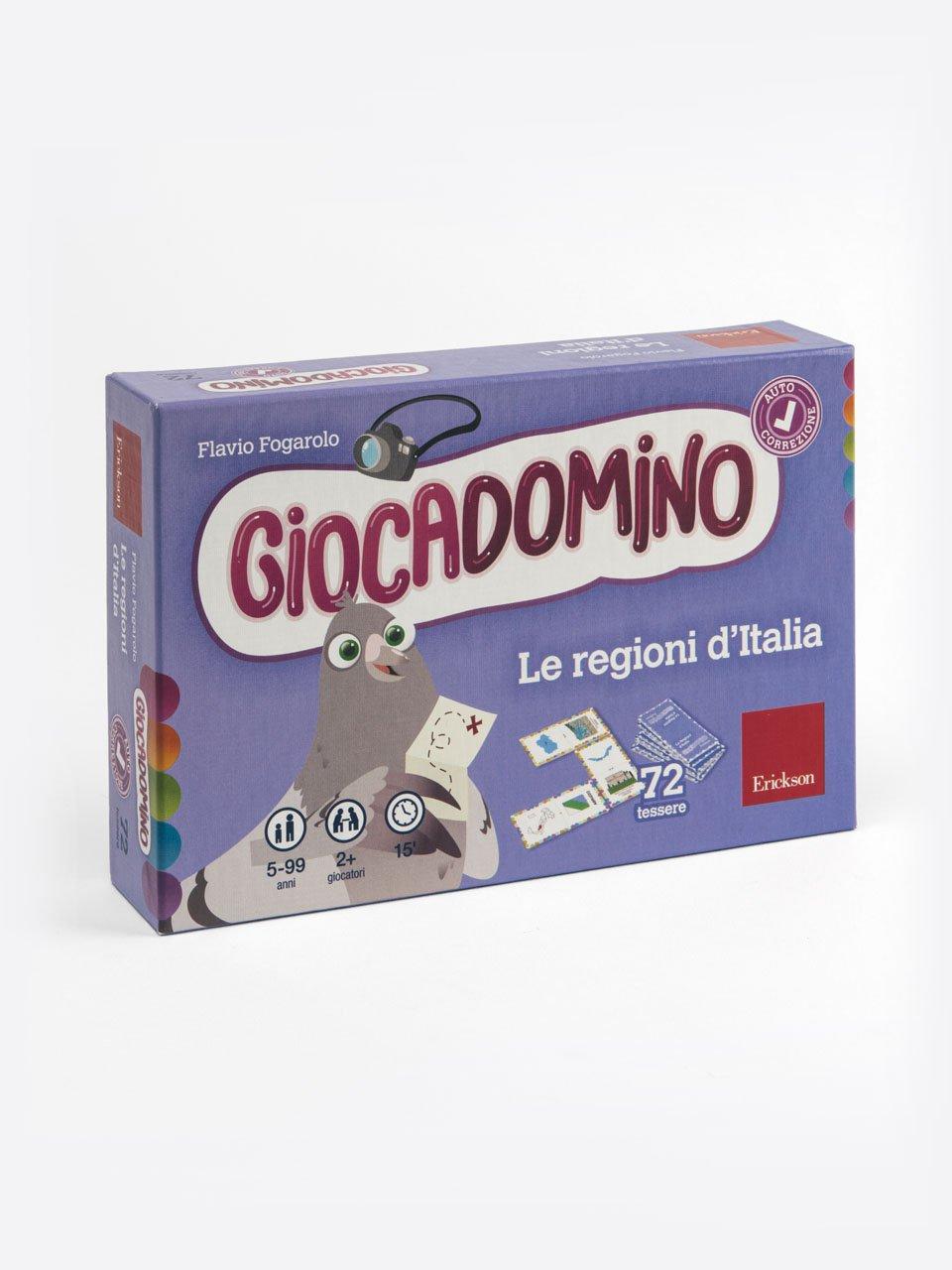 Giocadomino - Le regioni d'Italia - Storia facile per la classe quinta - Libri - App e software - Erickson