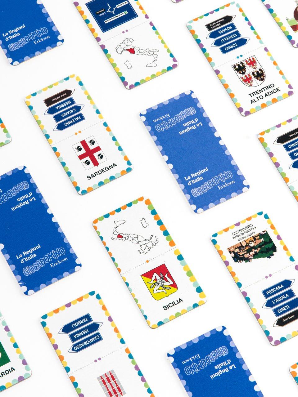 Giocadomino - Le regioni d'Italia - Giochi - Erickson 3