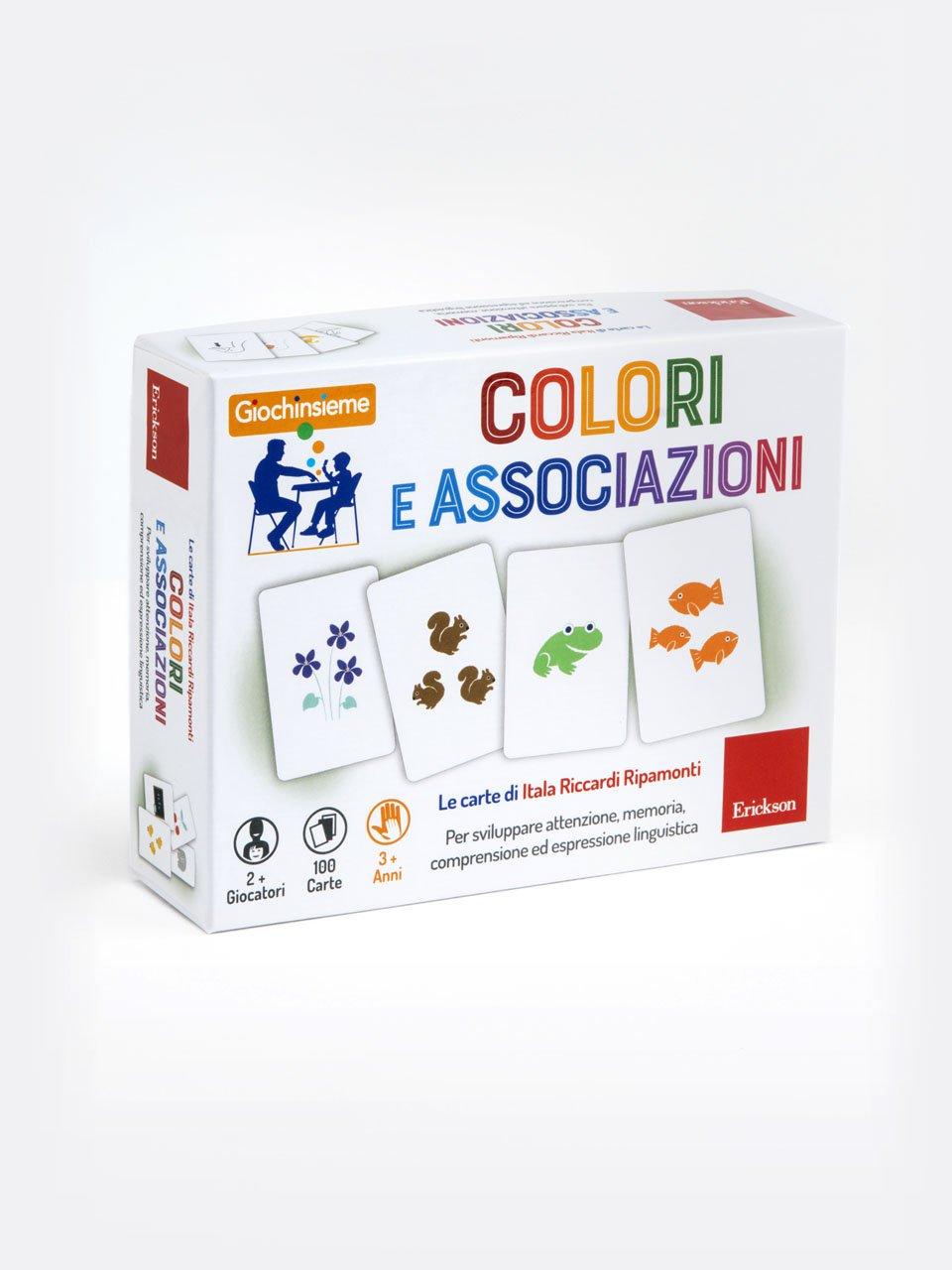 Giochinsieme - Colori e associazioni - Quattro stagioni per giocare - Libri - Erickson