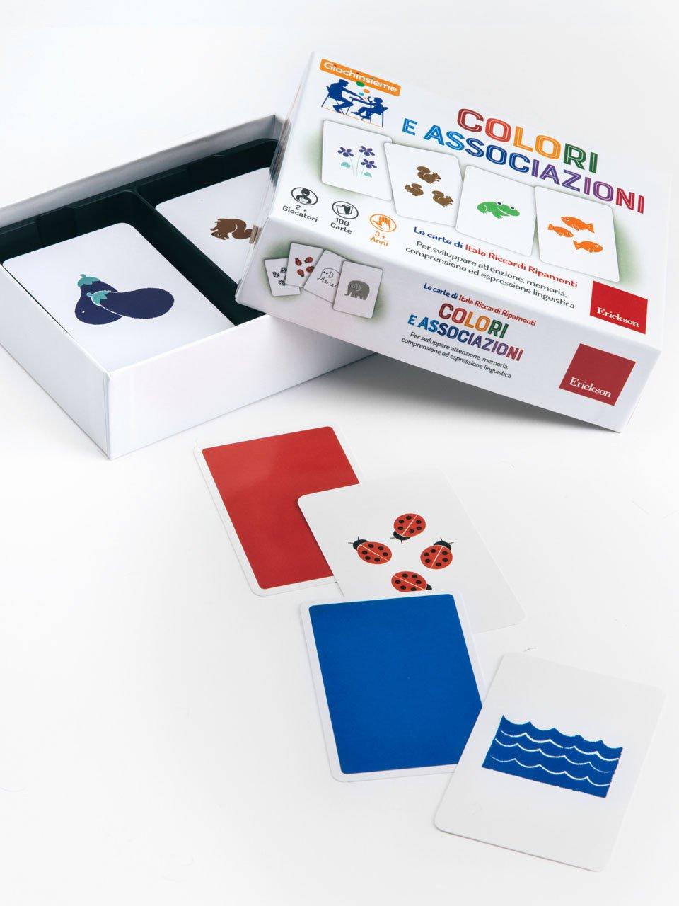Giochinsieme - Colori e associazioni - Strumenti - Erickson 2