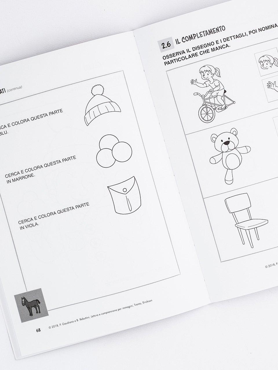 Lettura e comprensione per immagini - Libri - Erickson 2