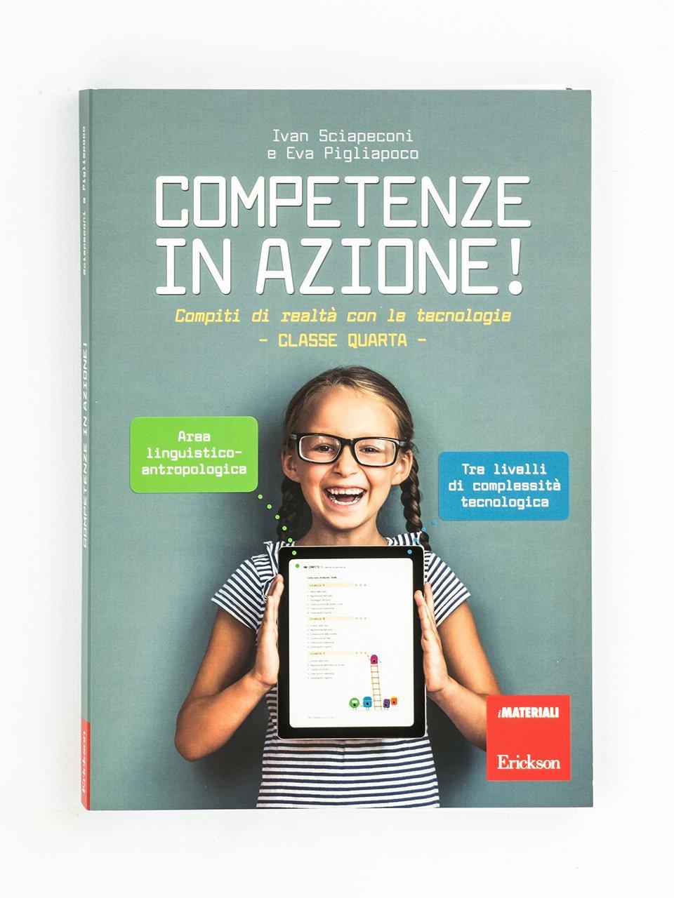 Competenze in azione! - Classe quarta - Area linguistico-antropologica - HELLO RUBY - Avventure nel mondo del coding - Libri - Erickson