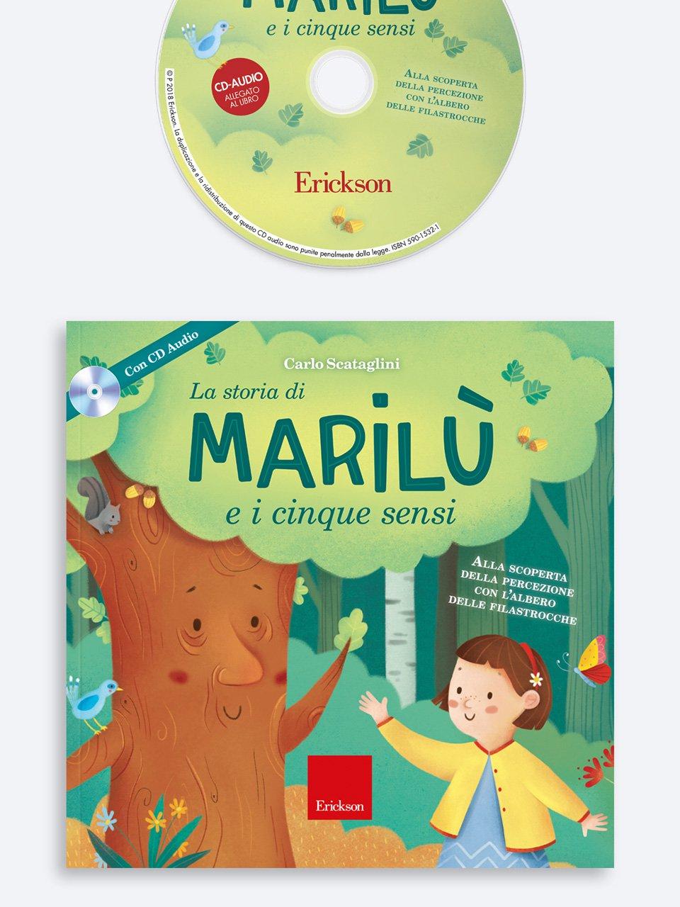 La storia di Marilù e i 5 sensi - L'incantesimo di Rocco - App e software - Erickson
