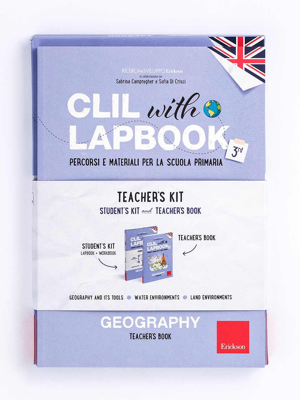 CLIL with LAPBOOK - GEOGRAPHY - Classe terza - CLIL mit LAPBOOK - Geografie - Classe terza - Libri - Erickson
