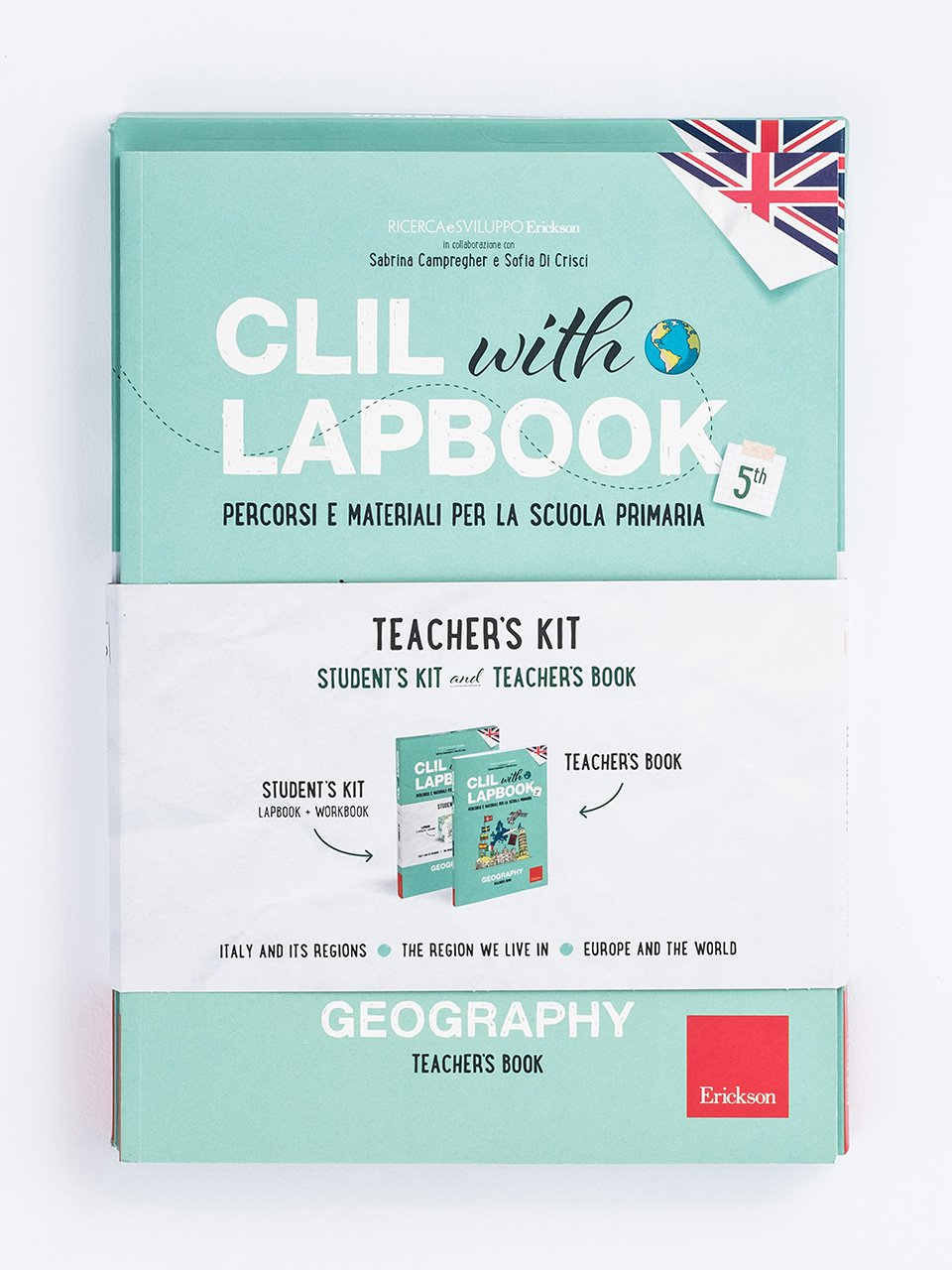 CLIL with LAPBOOK - GEOGRAPHY - Classe quinta - CLIL mit LAPBOOK - Geografie - Classe terza - Libri - Erickson