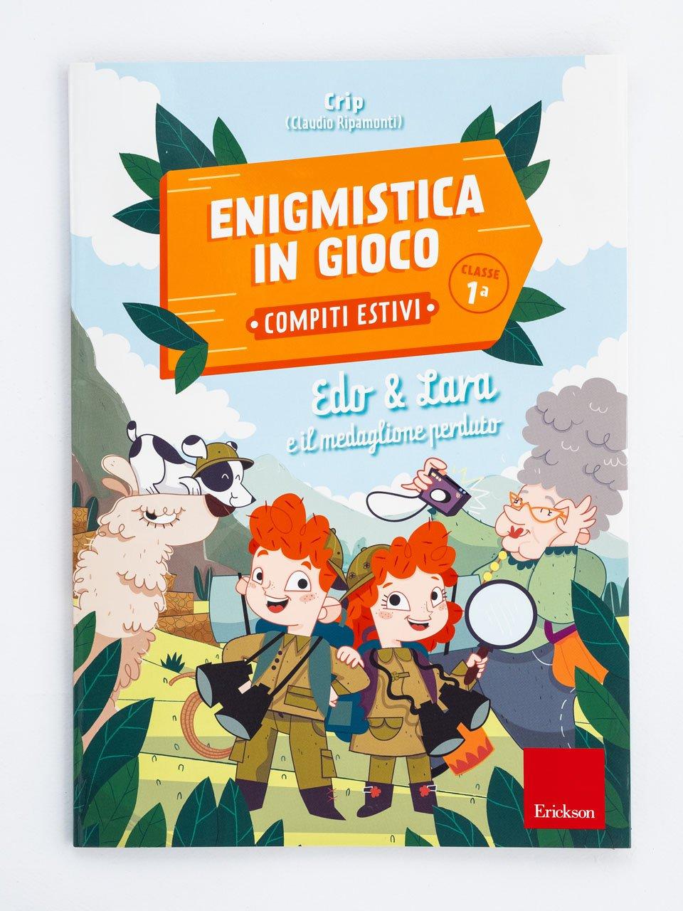 Enigmistica in gioco -  Compiti estivi - Classe prima - Le proposte Erickson per i compiti-delle-vacanze - Erickson