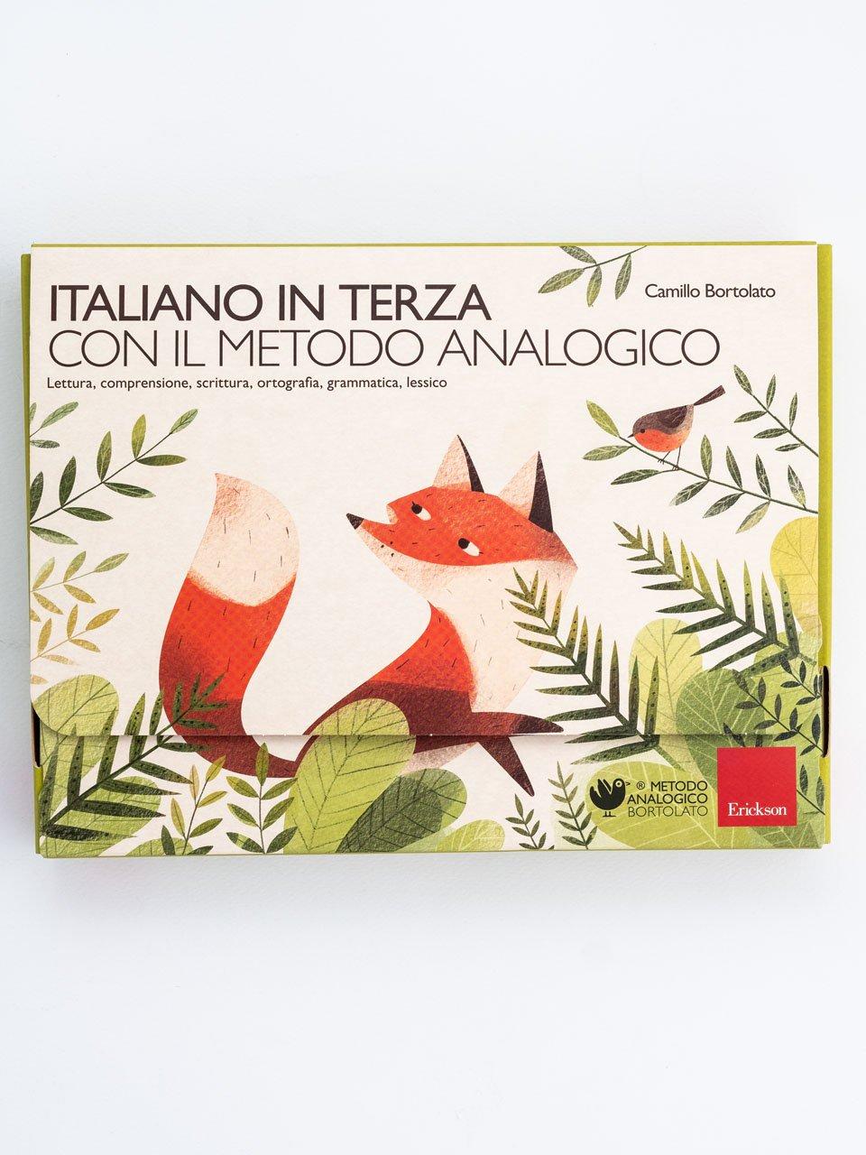 Italiano in terza con il metodo analogico - Laboratorio preposizioni articolate - Libri - Erickson