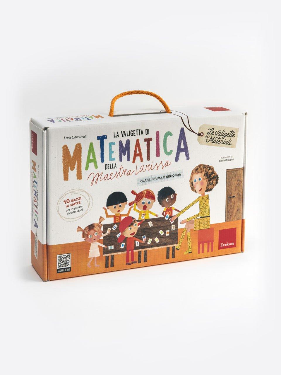 La valigetta di matematica della Maestra Larissa - Numeri in movimento - Libri - Erickson
